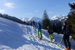 Kinder-Skitour in Gunzesried...