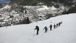 Rückblick Skitourenwochenende am Feldberg...